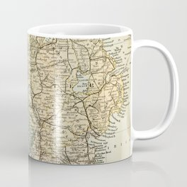 Encyclopedia Retro Map of Northern Ireland Coffee Mug