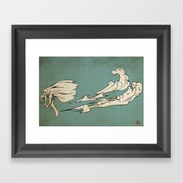 Divine Wind Framed Art Print