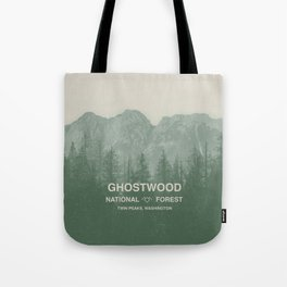 Ghostwood National Forest Twin Peaks Tote Bag