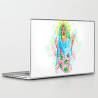 nicki Laptop & iPad Skins featuring Virgin Mary (Jane) by AnnaToman