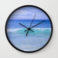 destiny Wall Clocks featuring Destiny by Sharon Mau