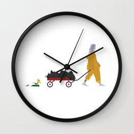 Billie Eilish Bellyache Wall Clock