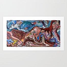 Medusa Exposed Art Print