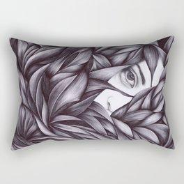 white light Rectangular Pillow