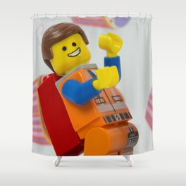Emmeting is awesome Shower Curtain