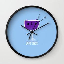 Just Tipsy Wall Clock