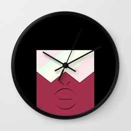 Garnet | Stronger Than You Wall Clock