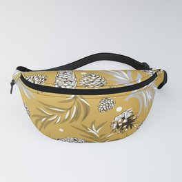 #Christmas #Pattern #Pine #Snow 6 Fanny Pack
