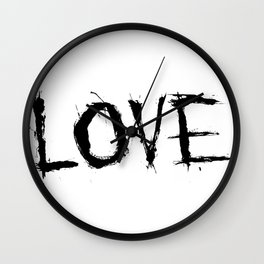 Relationships. (Love) Wall Clock