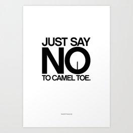 Camel Toe Art Print