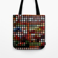 comic Tote Bags featuring Comic by Triplea