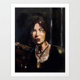 RTR Lara Croft Art Print