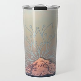 Mountain Mandala Travel Mug