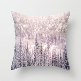 Winter Was Harsh Throw Pillow