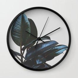 Botanical Art V4 #society6 #decor #lifestyle Wall Clock