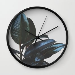 Botanical Art V4 #society6 #decor #lifestyle Wall Clock