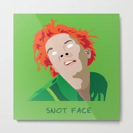 Snot Face Metal Print