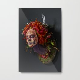 Summer Muertita Side Metal Print