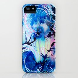 Heavenly Views (Falling Towards The Sky) iPhone Case