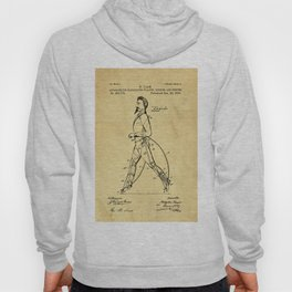 Old Patent Drawing Hoody