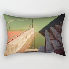 Distorsion Tennis Rectangular Pillow