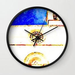 L'Aquila: church Wall Clock
