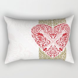 Resonate Bridge | Ace of Hearts Rectangular Pillow