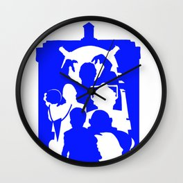 Doctor Who - TARDIS Monsters Wall Clock