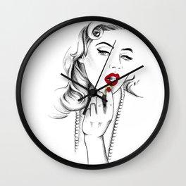 Mirror Mirror... Wall Clock