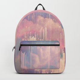 Candy Glitched Sky Backpack