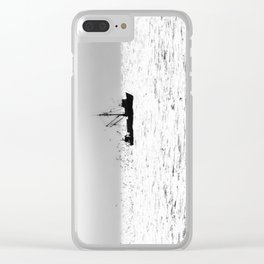 """Fishing Boat 5"" by Murray Bolesta Clear iPhone Case"