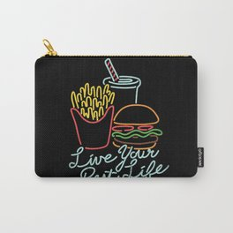 Live Your Best Life Carry-All Pouch