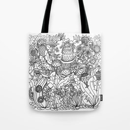 Doodle 8 Tote Bag