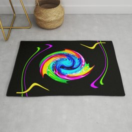 Abstract perfection -100 Rug