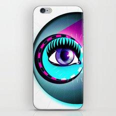 Halftone Eyeball iPhone & iPod Skin