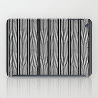 stripe iPad Cases featuring Herringbone Stripe by Project M