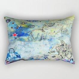 The Small World Experiment Rectangular Pillow
