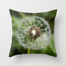 Imperfect clock Throw Pillow