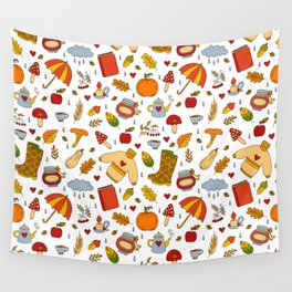 Fall in love Wall Tapestry