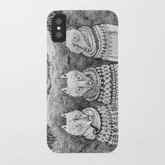 Icelandic foxes iPhone X Slim Case