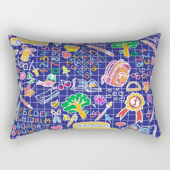 School teacher #7 Rectangular Pillow