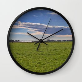 Forever Pastures Wall Clock
