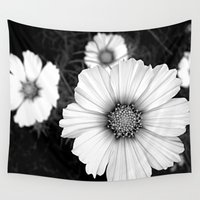 cosmos Wall Tapestries featuring cosmos by lalula