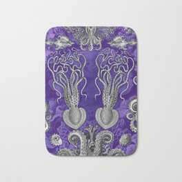 The Kraken Purple Notext Alt Bath Mat