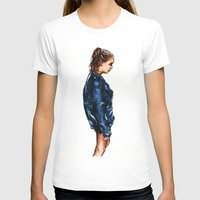 tumblr T-shirts featuring Tumblr girl by vooce & kat