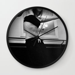 Contorted  Wall Clock