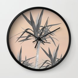 Palm Trees - Cali Pastel Summer Vibes #1 #decor #art #society6 Wall Clock