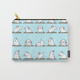 Bunnies Yoga Carry-All Pouch