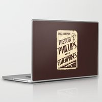 gta Laptop & iPad Skins featuring GTA Trevor Phillips Enterprises by Spyck