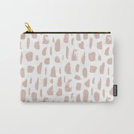 brush pattern x pink Carry-All Pouch